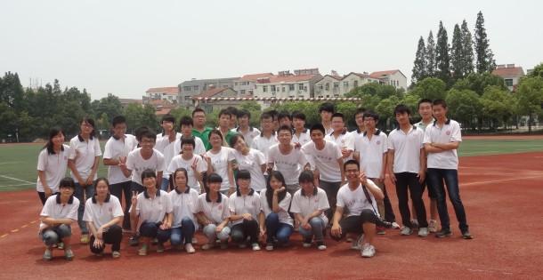 2013年赴湖北省团风中学1