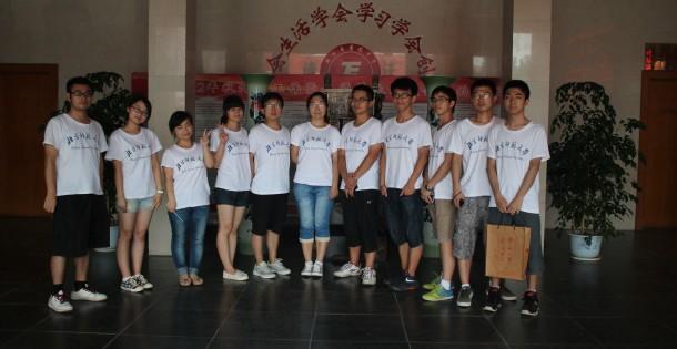2013年赴湖北省团风中学3